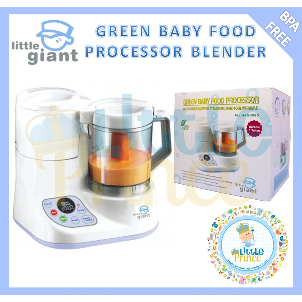 Green Baby Food Processor Food