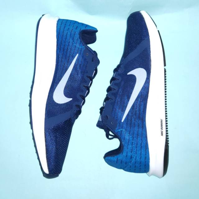 ce18e3637652a Sepatu Running Nike Downshifter 8 (Blue Void Indigo Fog)