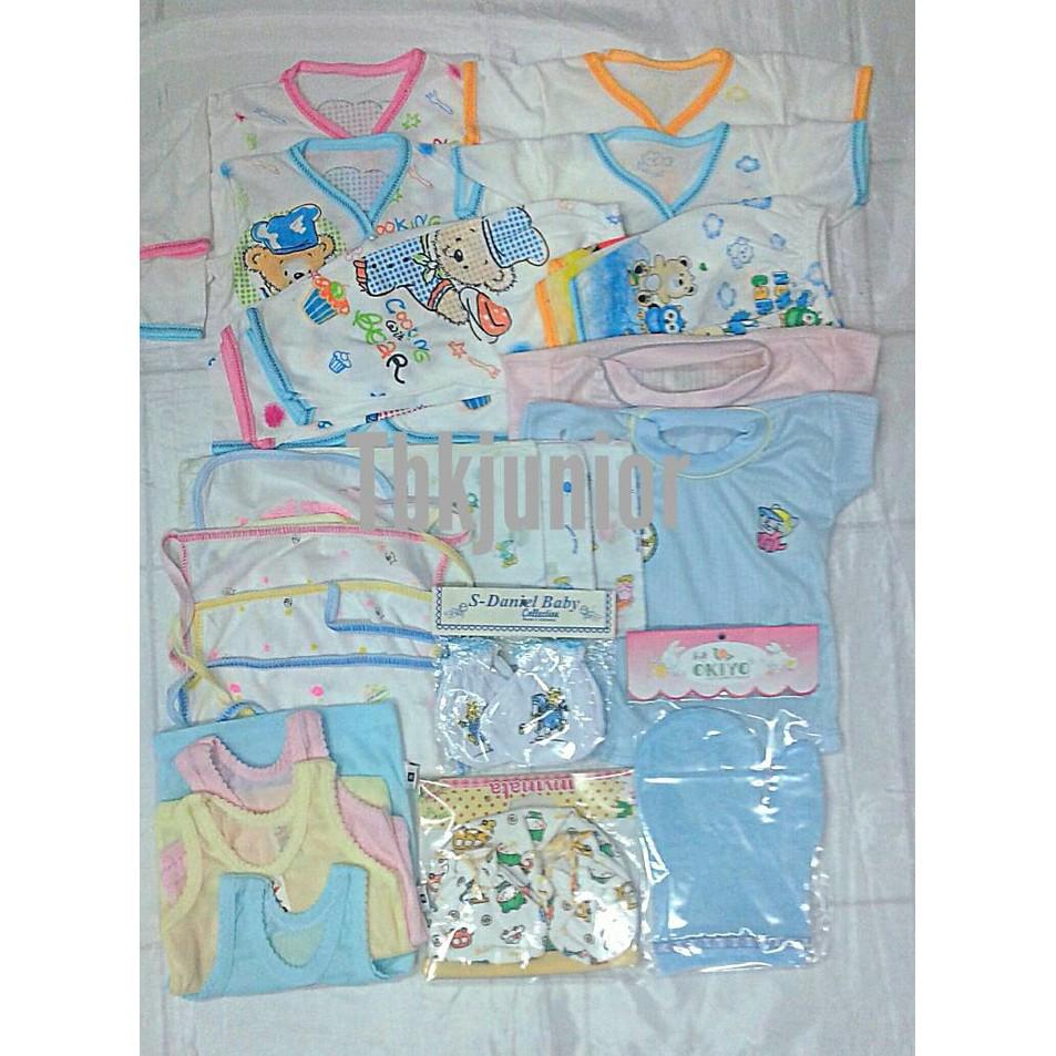 Paket Perlengkapan Bayi Baru Lahir Baby Newborn Gift Set Shopee Gb011 Indonesia