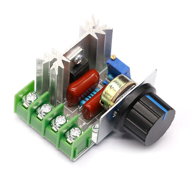 AC 220 V 2000 W SCR Voltage Regulator Dimmers Speed Thermostat Controller