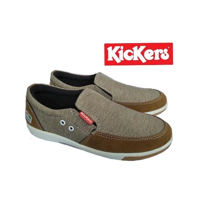Sepatu Kickers Slip On Casual  7dbdd0a540