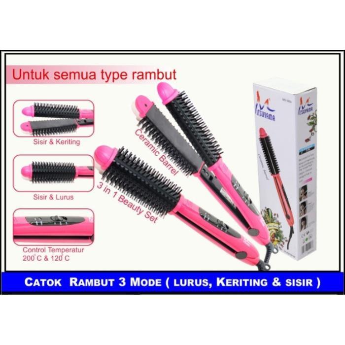 Catokan mitsuyama GW iron brush 2in1 812545fcd2