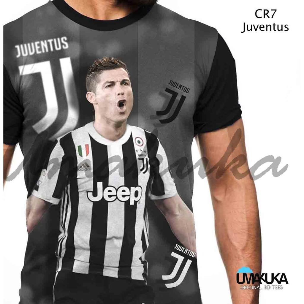 Kaos Distro Sport Bola Cr7 Ronaldo Logo Terbaru Missleft Cloth Greenlight Men Tshirt Portugal Merah L Shopee Indonesia