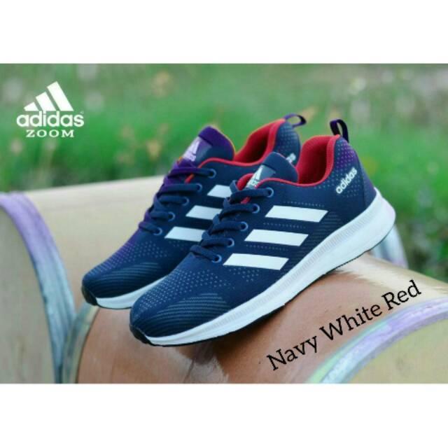 UAW Shoes Official - SEPATU ADIDAS ZOOM FLYKNITE I Sepatu Sneakers Olahraga  Running Jogging Sport  32d1252456