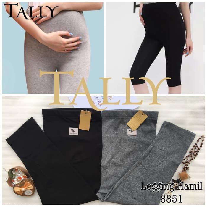 New Celana Legging Hamil 3 4 Tally 8851 Premium Quality Celana Ibu Hamil Murah Shopee Indonesia