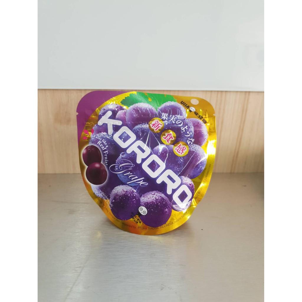 Permen Uha Daftar Harga November 2018 Chocolate Milk Candy 103g Rich 103 G 22500 Kororo Grape 40g Taste Like A Real Fruit