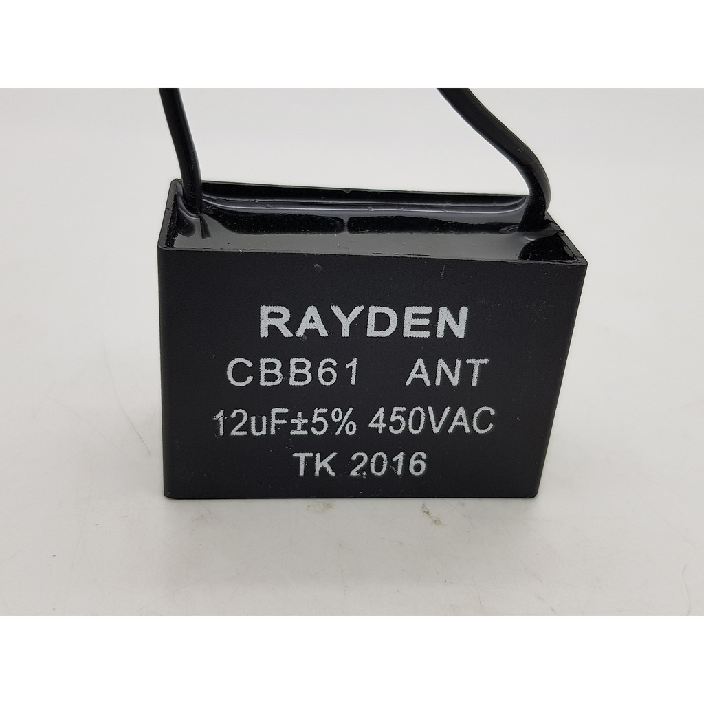 kapasitor kabel kipas angin 12 mikro F capasitor kipas