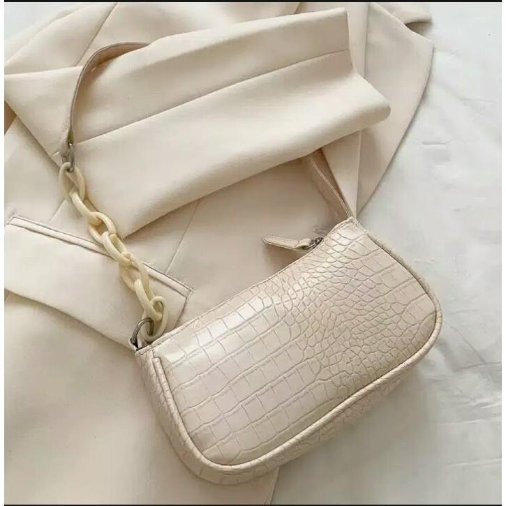 Tas Wanita Murah / Bag Croco / Nevada Pochette /Tali ...