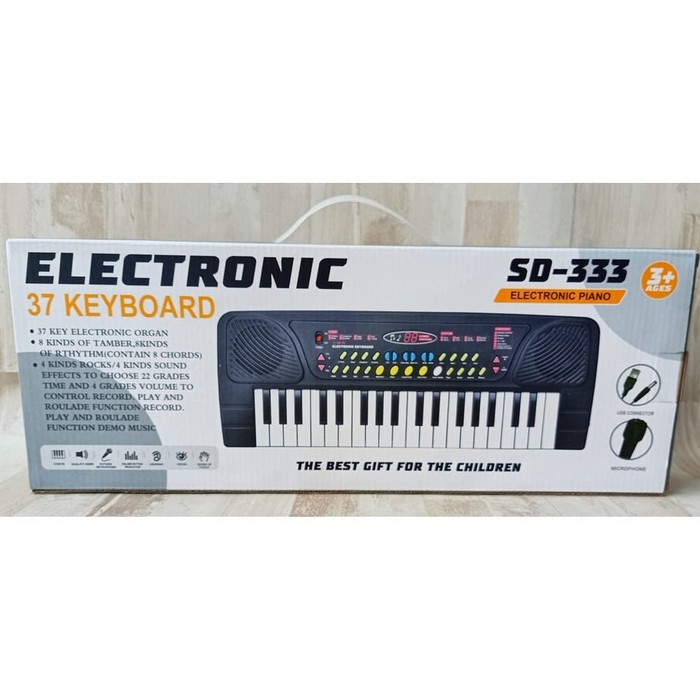 Mainan Piano Keyboard Electronic Sd 333 By Sayang Anakk Sa 0802 Shopee Indonesia