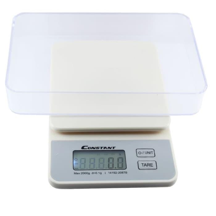 Timbangan Digital SH-125 Kitchen Scale Mangkuk 5kg 1 gr Dapur Kue Roti Bonus Mangkok