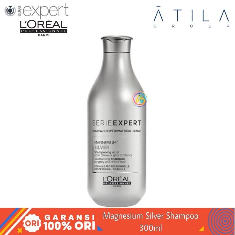 LOreal Professionnel Serie Expert Silver Shampoo / Conditioner 300ml | Purple Shampoo