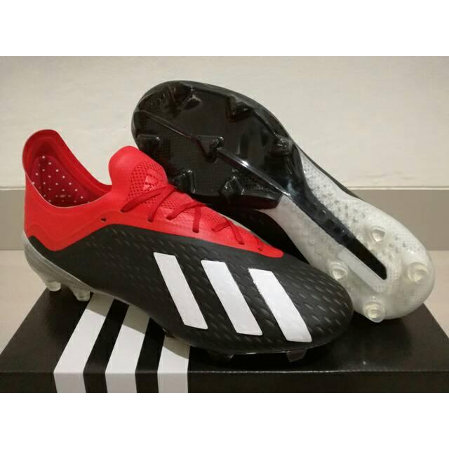 Sepatu Bola Adidas X 18 1 Next Gen Black White Shopee Indonesia