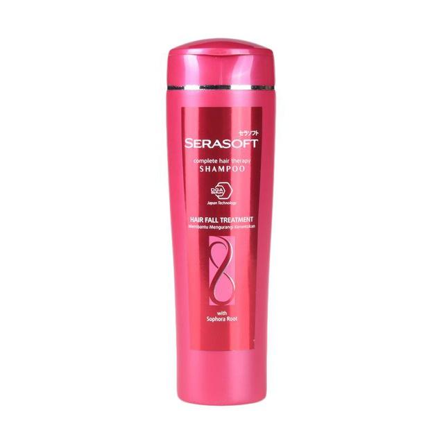 SERASOFT Shampoo Hair Fall Treatment Botol 340ML-3