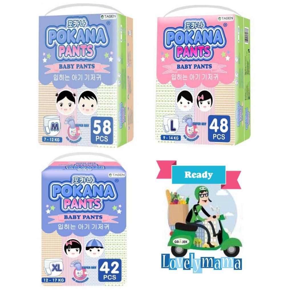 Termurah Pokana Pants M58 Shopee Indonesia Diapers S22