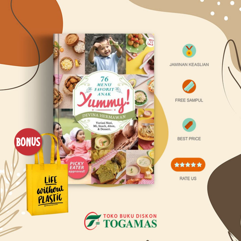 [PO] 76 Menu Favorit Anak Yummy - Devina Hermawan