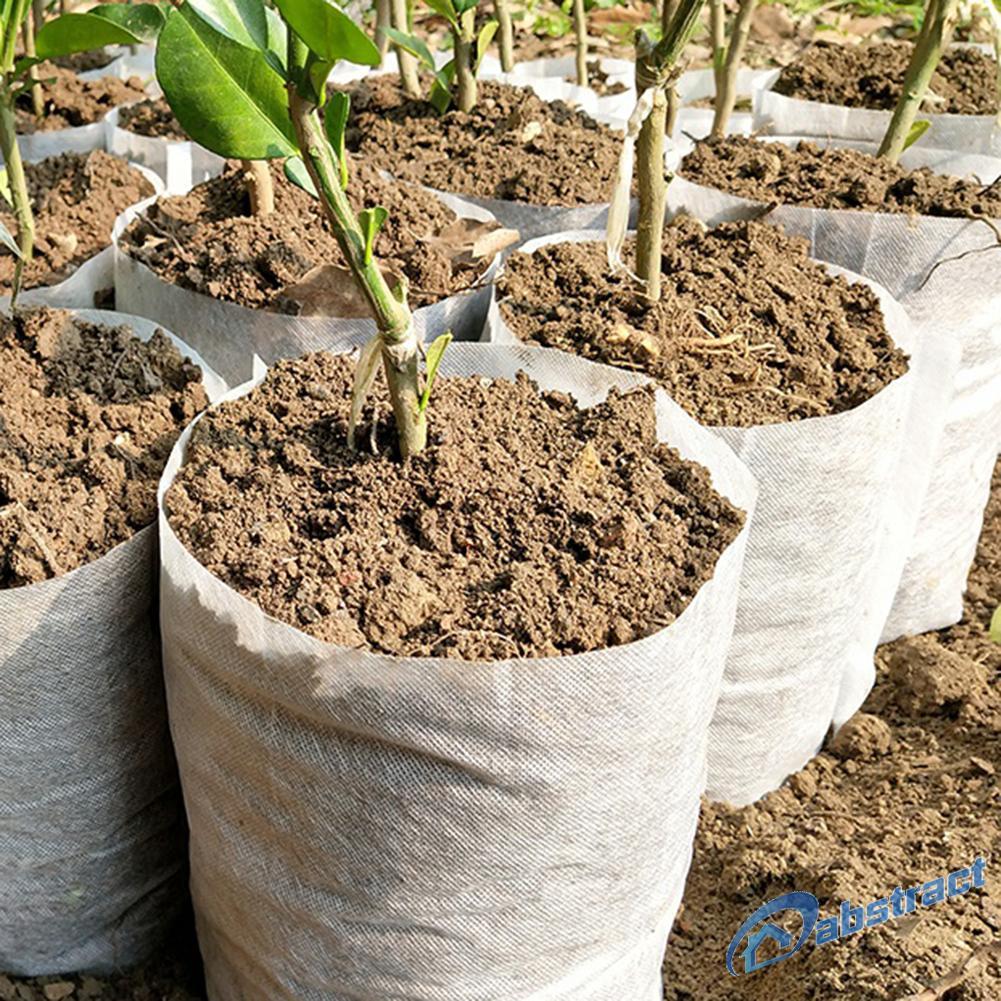 Ab 5pcs Pot Tanaman Kentang Dengan Pegangan Bahan Kain Warna Hitam Shopee Indonesia