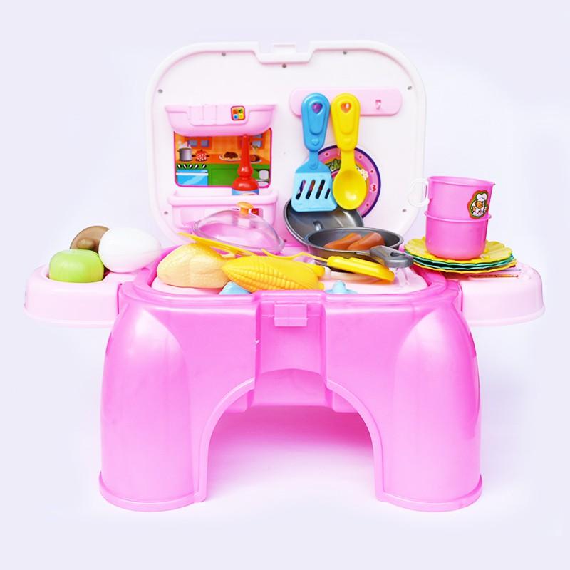 Mainan Kitchen Set Mainan Masak Masakan Dua Tungku Mainan Anak Cewek Oct2021 Shopee Indonesia
