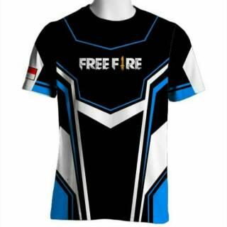 Jersey Kaos Baju Gaming Freefire Dota Free Design Free Nickname