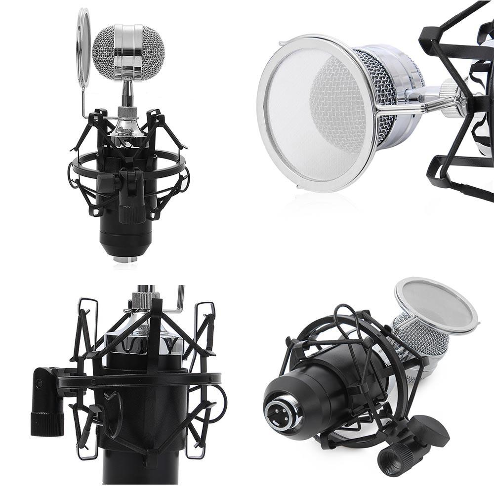 Professional Condenser Duet Microphone BM8000 full set