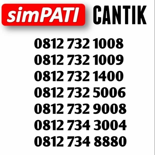0812 655 4444 0404 4040 Perdana nomor cantik telkomsel Simpati 11 digit murah simpel | Shopee