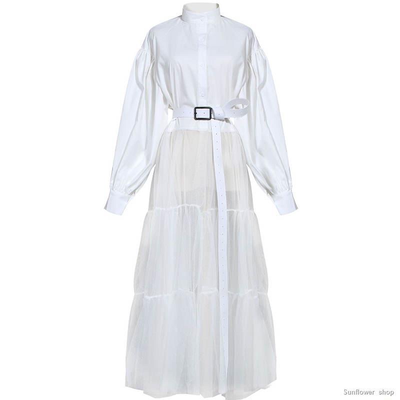 Fashion Concept Store Net Yarn New European And American Niche Design Dress Shopee Indonesia