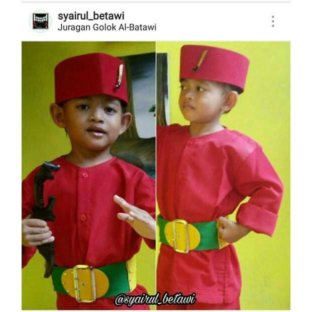 Baju Pangsi Betawi Untuk Anak Anak Shopee Indonesia