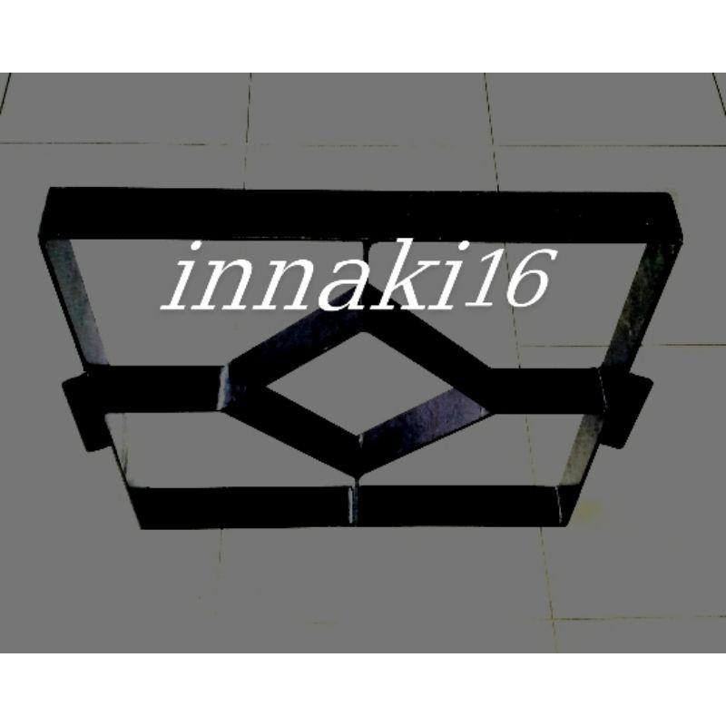 cetakan paving 3D besi