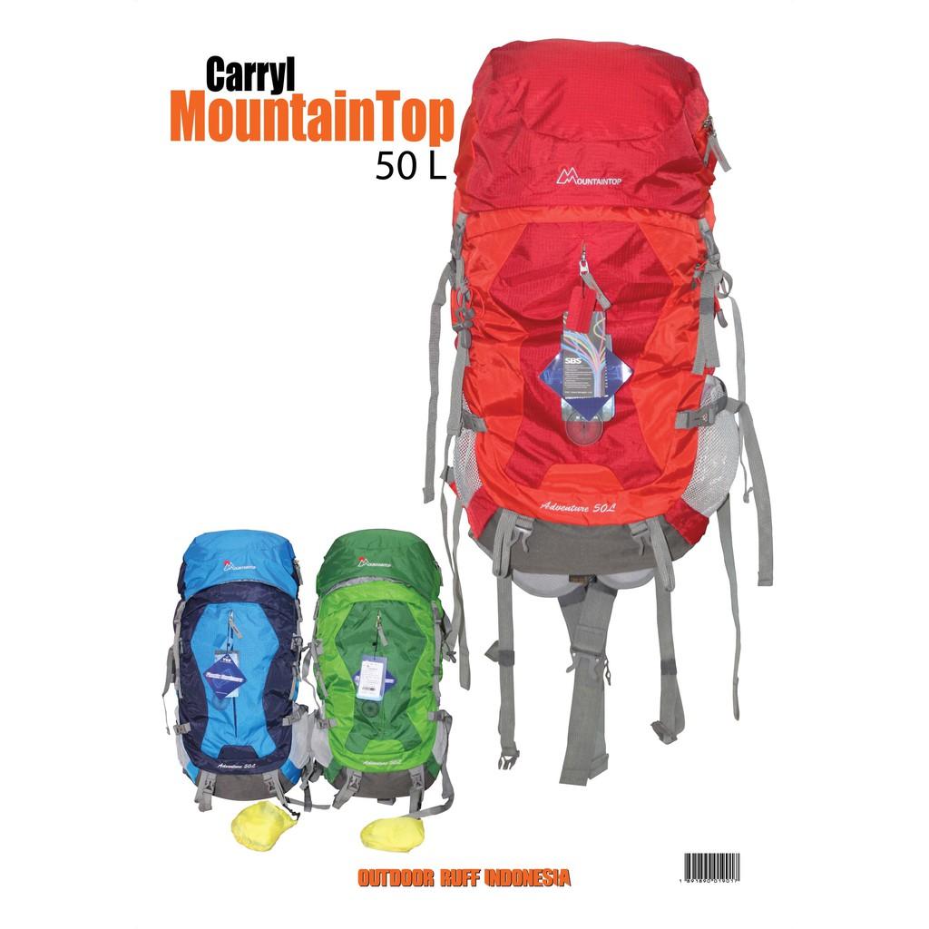 Tas Gunung Ransel Cariel Carier Ultralight Backpack Mountaintop 50L Not Mammut Gregory MHW | Shopee Indonesia