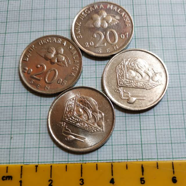 Koin Negara Malaysia 20 sen