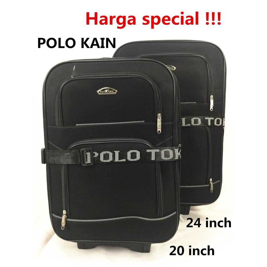Tas Koper Polo Hoby 1set 2pc Ukuran 24 28 Inch Shopee Indonesia Abs 4 Roda 22 Inci  Pabrik