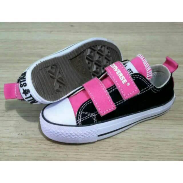 Sepatu Converse Kids Tanpa Tali Perekat Converse Anak Anak