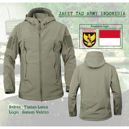 JAKET TAD   JAKET JOKOWI   JAKET WATERPROOF   ARMY LOOK   TACTICAL AIRSOFT  OUTDOOR MILITER  14d2943e2c