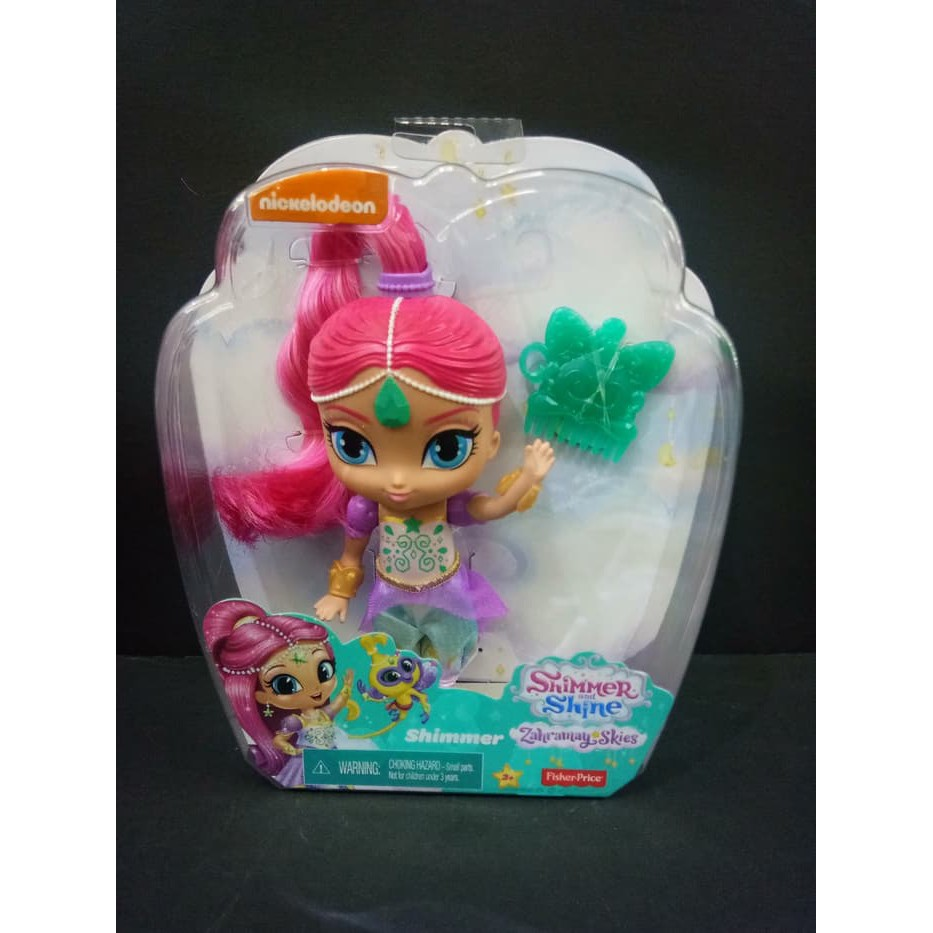 Mainan Boneka Shimmer And Shine Shimmer Doll 15cm Fisher Price Shopee Indonesia