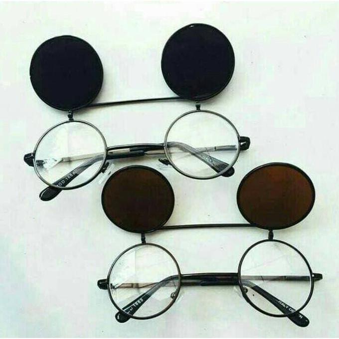Kacamata bulat boboho buka tutup  9914fefdba