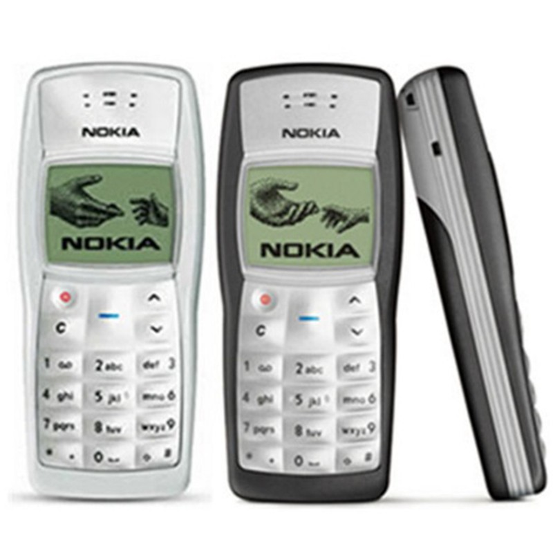 Nokia Jadul 1100 Refurbished Handphone Jadul Unik Murah Shopee