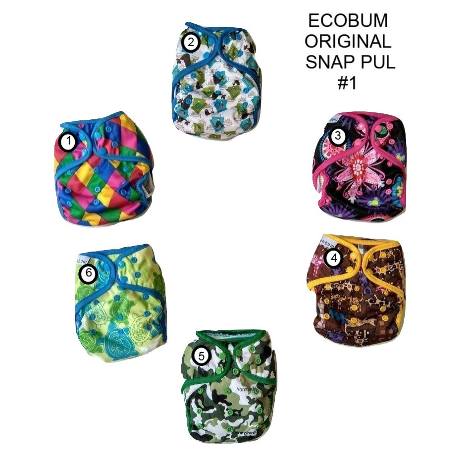 Clodi Pem Velcro Ori Pempem Cloth Diaper Popok Kain Minikinizz Izzy Eco Grosir  Motif 6 Murah Shopee Indonesia