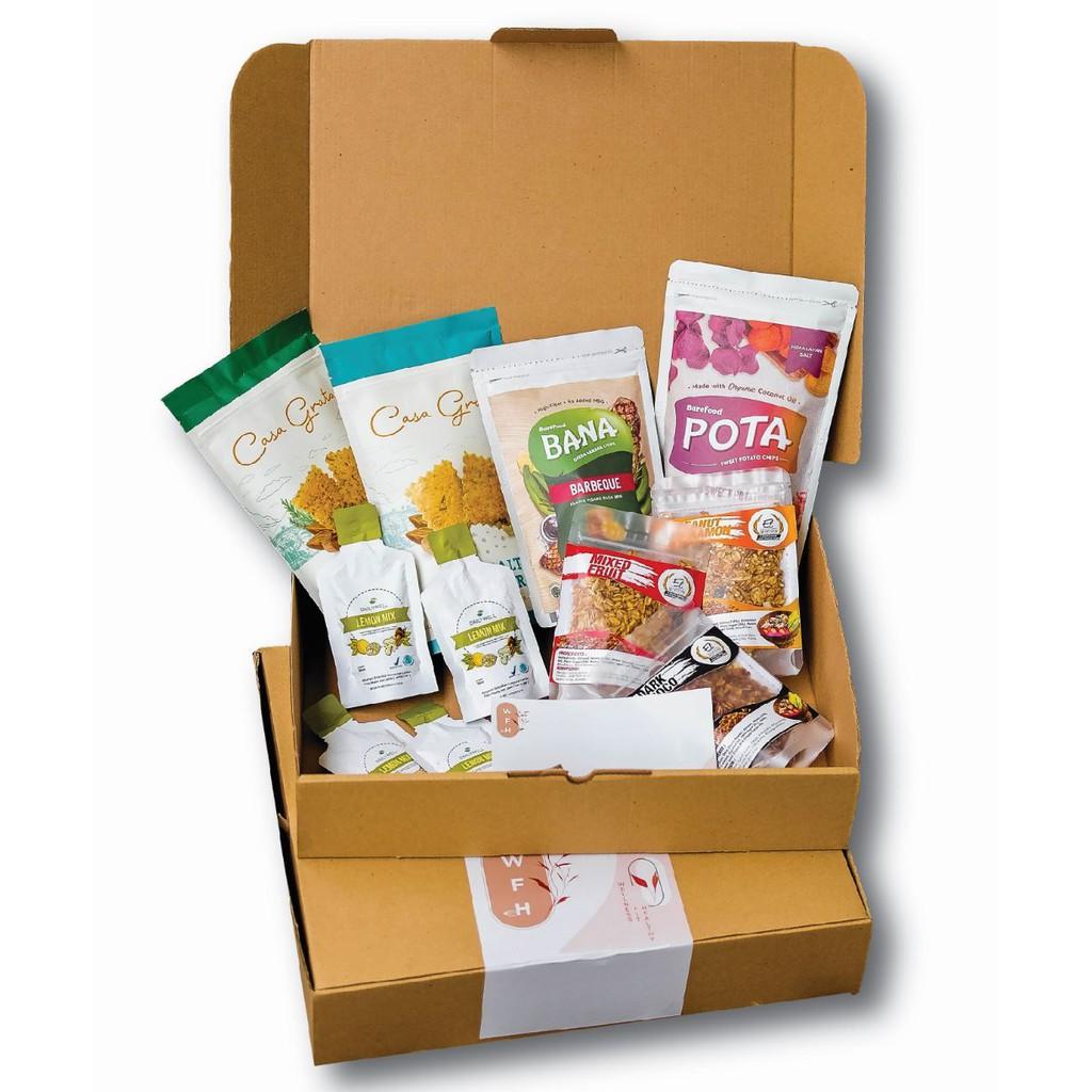 Casa Grata Wellness Fit Healthy ( WFH ) Box - Barefood x Casa Grata x Dailywell x El Granola