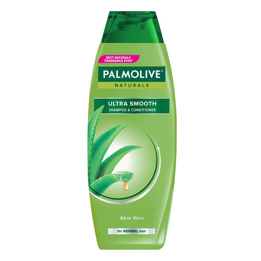 Palmolive Naturals Shampoo & Conditioner Ultra Smooth 180ml - Shampo Kondisioner-1