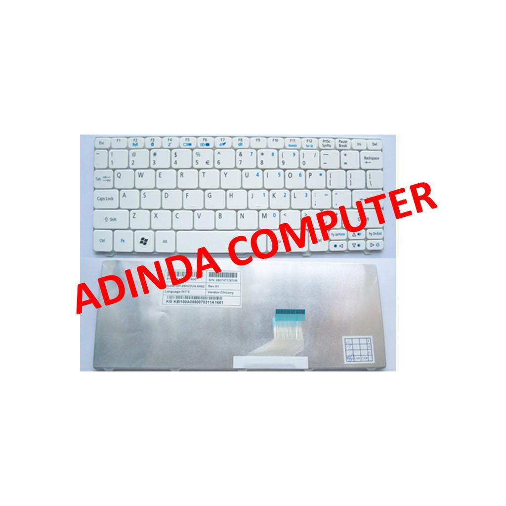 Info Harga Acer Keyboard Aspire One 532h Happy Happy2 Baterai D255 D260 2 D257 D270 722 Putih Oem Original 522 521h 522h 533h Nav50