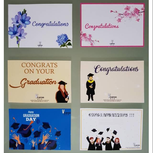 Kartu Ucapan Buket Bunga Greeting Cards Shopee Indonesia
