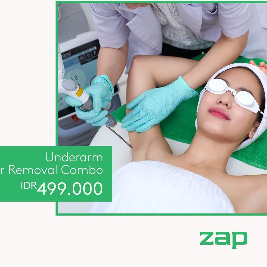 Termurah Zap Clinic Underarm Hair Removal Combo Shopee Indonesia