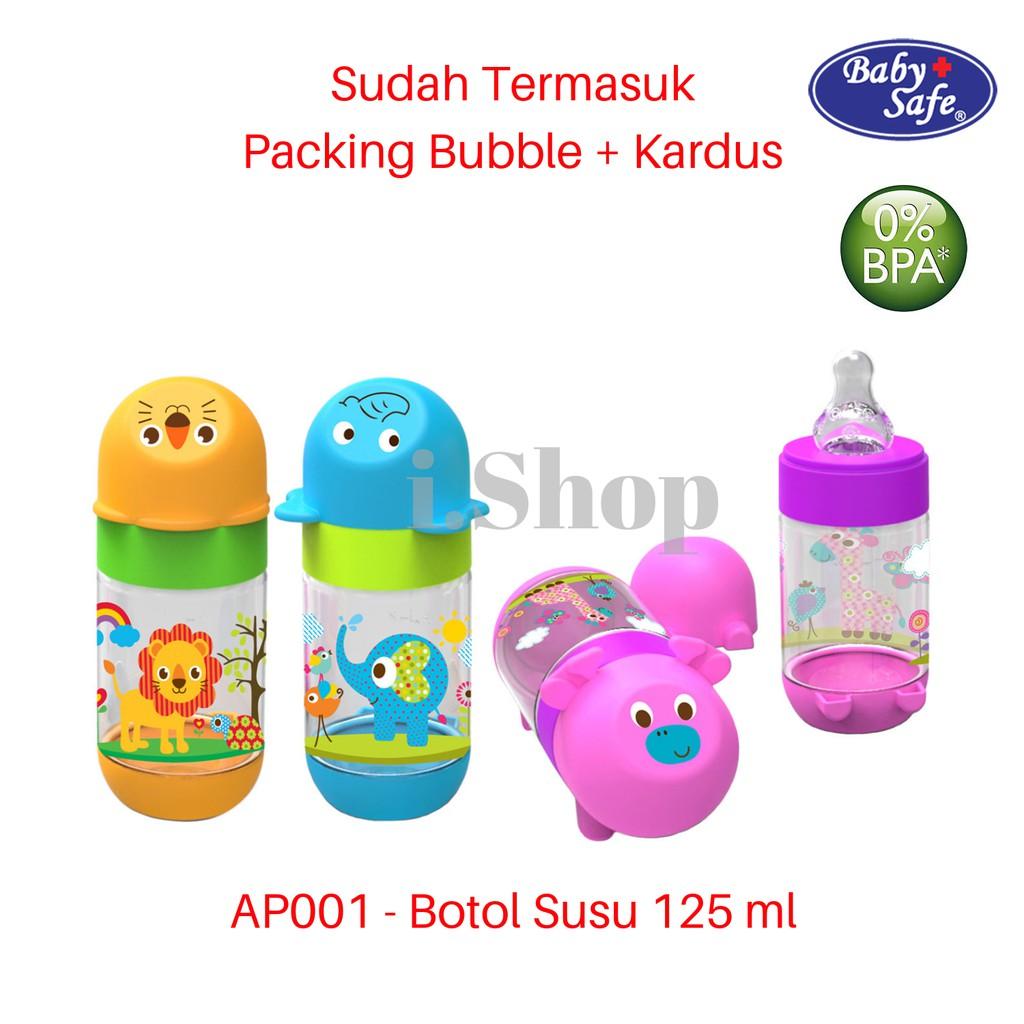 AP001 Baby Safe Feeding Bottle / Botol Susu Bayi Karakter Hewan Animal 125 ml   Shopee Indonesia