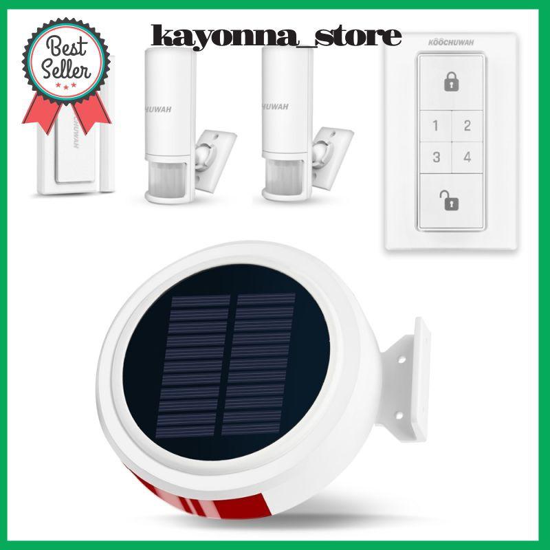 Solar Gsm Alarm Portable Smart Home