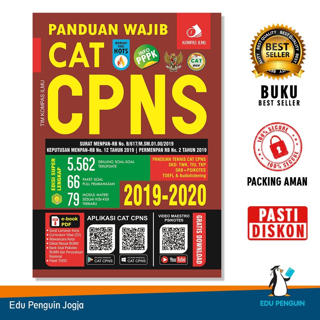 Panduan Wajib Cat Cpns 2019 Buku Cpns Asn Soal Hots Free Bubble Wrap