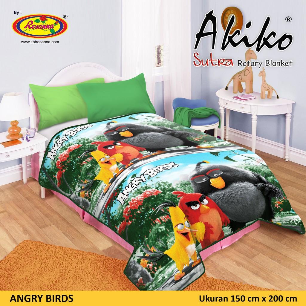 Selimut Akiko Sutra Panel 150x200 Keroppi Spec Dan Daftar Harga Vito Kids 100x140 Valda Rotary