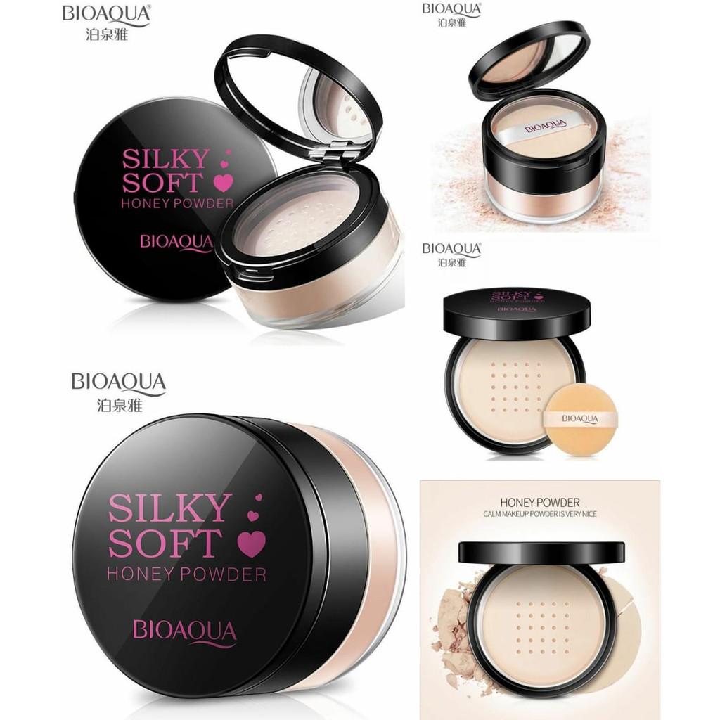 Produk Kecantikan BIOAQUA SILKY SOFT HONEY POWDER - Bedak Bioaqua Original Terbaik | Shopee Indonesia