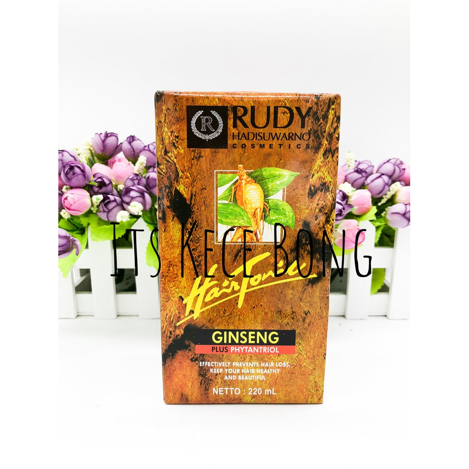 Rudy Hadisuwarno Hair Tonik Ginseng Plus Phytantriol 220 Ml Daftar Styling Foam Strong 2000 Tonic 220ml Shopee Indonesia