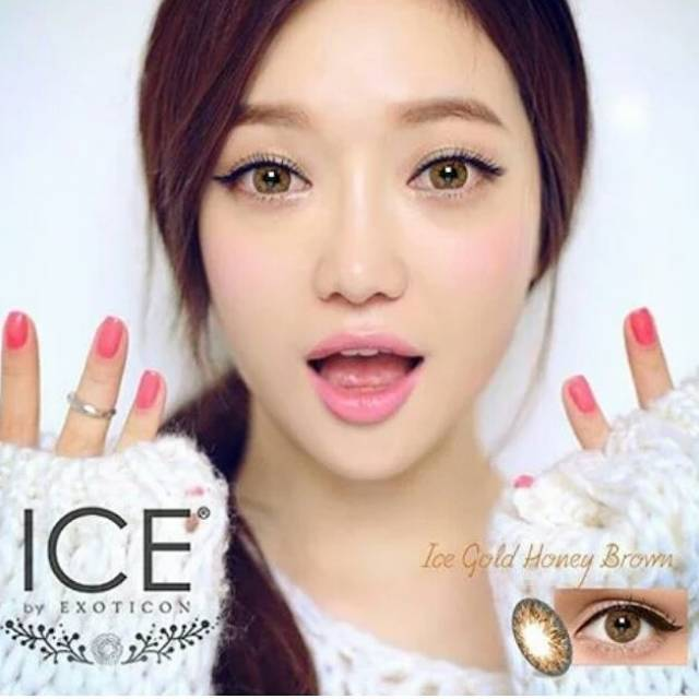 Softlens X2 Ice Gold Honey Brown  076ca79881