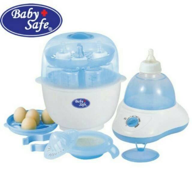 Baby Safe Set Bottle Rack Set Rak Botol Bayi Isi 4pc Botol Babysafe | Shopee Indonesia