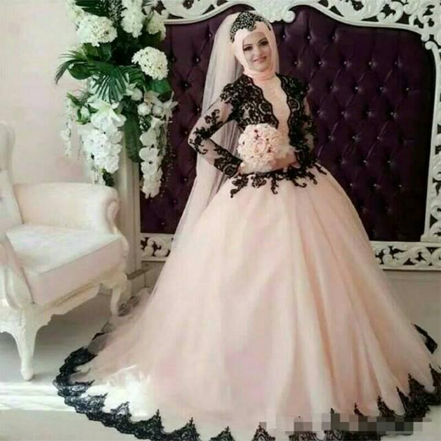Gaun Pengantin Muslim Gaun Akad Nikah Hijab Gaun Pengantin Hijab